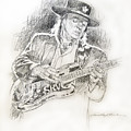 Stevie Ray Vaughan - Texas Twister by David Lloyd Glover