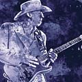 Stevie Ray Vaughan - 02 by Andrea Mazzocchetti