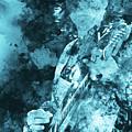 Stevie Ray Vaughan - 16 by Andrea Mazzocchetti