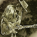 Stevie Ray Vaughan - 19 by Andrea Mazzocchetti