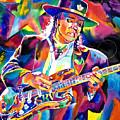 Stevie Ray Vaughan by David Lloyd Glover