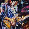 Stevie Ray Vaughan by Debra Hurd