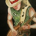 Stevie Ray Vaughan by Portland Art Creations