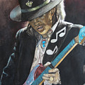 Stevie Ray Vaughan  by Lance Gebhardt