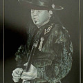 Stevie Ray Vaughan by Michael Rogers