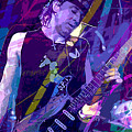 Stevie Ray Vaughan Sustain by David Lloyd Glover