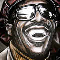 Stevie Wonder by Zach Zwagil