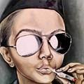 Stewardess by Olga Khrobostova