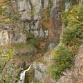 Stewart Falls In Autumn by Dennis Hammer