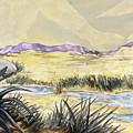 Sticker Landscape 3 Desert by Karl Frey