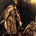 Stigmatisation Of St Francis by El Greco