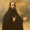 St.ignatius Loyola by Francisco de Zurbaran
