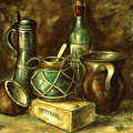 Still Life 72 - Oil On Wood by Peter Potter
