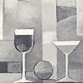Still Life Black And White by Lutz Baar