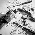 Still Life Carving Still Life by Jeffrey Jensen