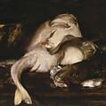 Still Life, Fish by William Merritt Chase