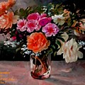Still-life For Anne Catus 1 No. 1 H A by Gert J Rheeders