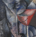 Still Life  Glass And Siphon by Umberto Boccioni
