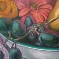 Still Life Grape Medley by Aleksandra Buha