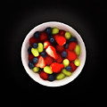Still Life Of A Bowl Of Fresh Fruit Salad. by Phill Thornton