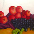 Still Life Of Fruit by Michael L Brown