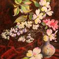 Still Life Of Stolen Flowers by Bill Meeker