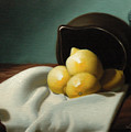 Still Life Painting Three Beauties by Eric Bossik