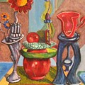 Still Life Reconstructed by Dennis Tawes