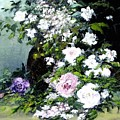 Still Life W/flowers by Boris Garibyan