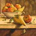 Still-life With Apples And Pears by Piety Choi