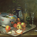 Still Life With Apples by Eugene Henri Cauchois