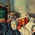 Still Life With Apples by Paul Cezanne