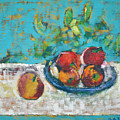 Still Life With Apples by Vlasta Beketic Dugonjic