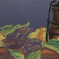 Still Life With Artichockes by Rita Bandinelli