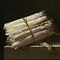 Still Life With Asparagus by Adriaen Coorte