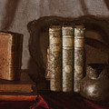 Still Life With Books by Michele A Loftus