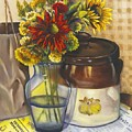 Still Life With Brown Paper Sack by Marlene Book