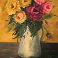 Still Life With Flowers by Addie Coppola