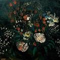 Still Life With Flowers Boris Grigoriev by Eloisa Mannion