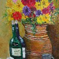 Still Life With Flowers by Michael L Brown