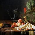 Still Life With Fruit by Peter Barritt