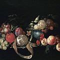 Still Life With Fruit by Cornelis de Heem