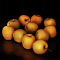 Still Life With Golden Apples by Ludmila SHUMILOVA