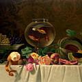 Still Life with Goldfish 1873