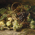 Still-life With Grapes And Pears by Gerardina Jacoba van de Sande Bakhuyzen