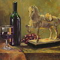 Still Life With Horse by Laura Lee Zanghetti