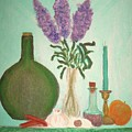Still Life With Lilac by Desiree Paquette