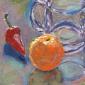 Still Life With Orange by Horacio Prada