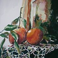 Still Life With Oranges by Aleksandra Buha