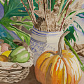Still Life With Pumpkin by Lois Boyce